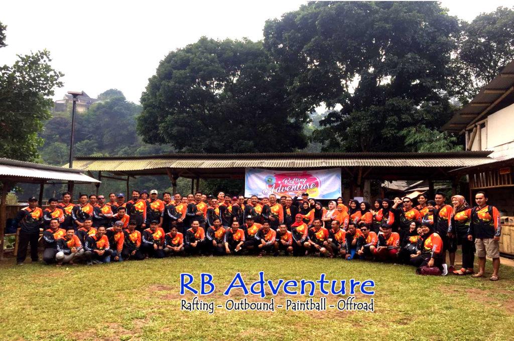 Tempat Arung Jeram Rafting Cisadane Di Bogor